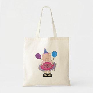 Happy Birthday Pig Bags