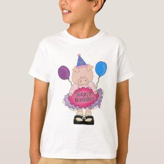 Happy Birthday Pig T-Shirt
