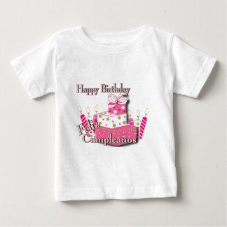 Happy Birthday- Pink Cake Baby T-Shirt