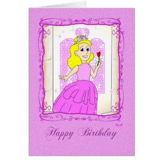 Happy Birthday: Pink Princess Card