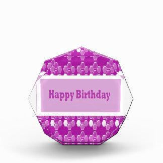 Happy Birthday Pink Purple Greeting Love Romance 9 Award