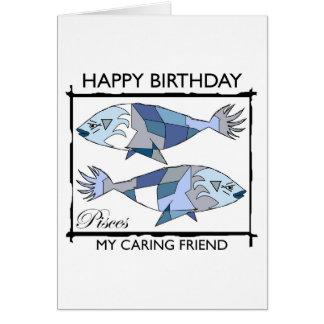 Happy Birthday, Pisces! Greeting Card