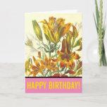 "[ Thumbnail: ""Happy Birthday!"" + Plants & Flowers Card ]"