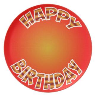 Happy Birthday Plate. Plate