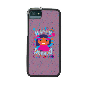 Happy Birthday Playful Monster iPhone 5/5S Covers