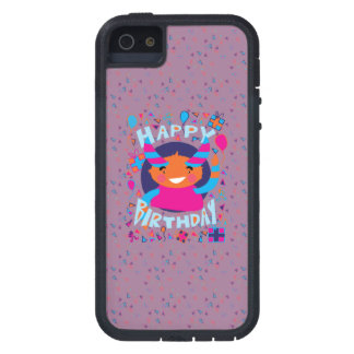Happy Birthday Playful Monster Cover For iPhone 5/5S