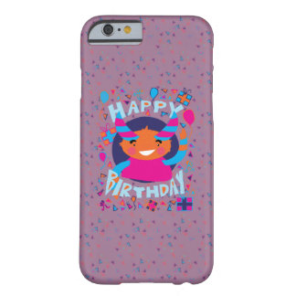 Happy Birthday Playful Monster Barely There iPhone 6 Case