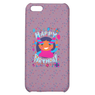 Happy Birthday Playful Monster iPhone 5C Cover