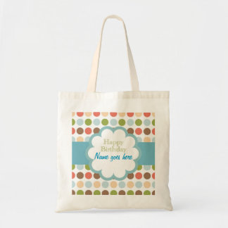 Happy Birthday (poka dots) Bags