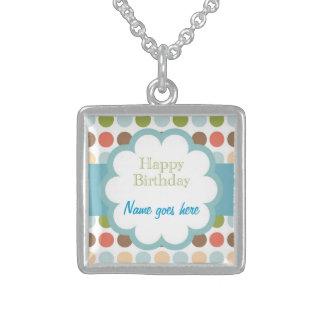Happy Birthday (poka dots) Jewelry