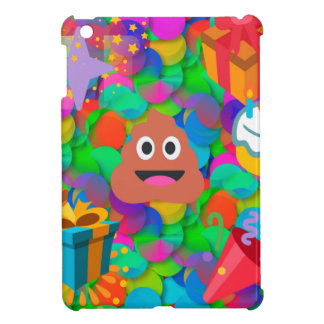 happy birthday poop emoji case for the iPad mini