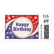 Happy Birthday Postage