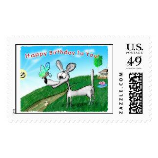 Happy Birthday! Postage Stamp