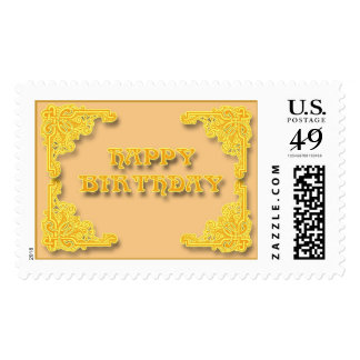happy Birthday  !!! Postage Stamps