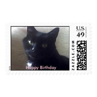 , Happy Birthday postage