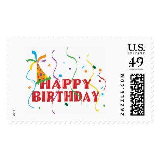 Happy Birthday Postage