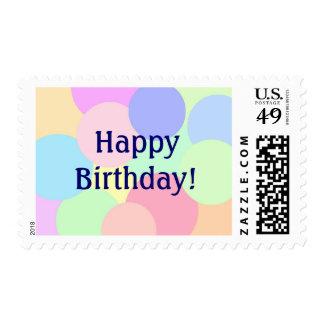 Happy Birthday! Postage Stamps