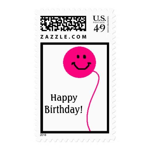 Happy Birthday! - postage stamp
