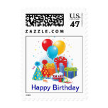 Happy Birthday Postage Stamp