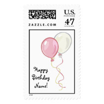 Happy Birthday Postage Stamp