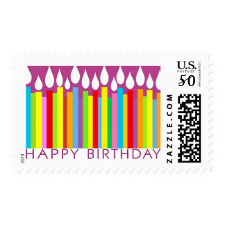Happy Birthday Postage Stamp - General