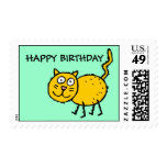 HAPPY BIRTHDAY - Postage Stamps