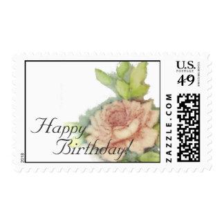 Happy Birthday! Postal Stamp-Customize Postage Stamp