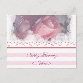 Happy Birthday Postcard postcard