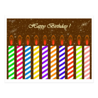 Happy Birthday ! Postcard