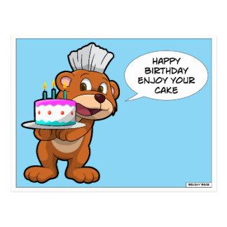 Happy birthday postcard for dentists