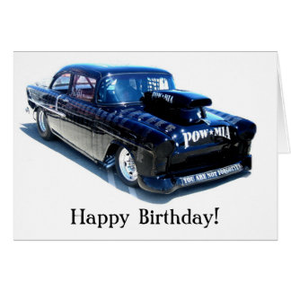 Classic Cars Fathers Day Greeting Cards Zazzle