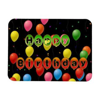 Happy Birthday Premium Magnet