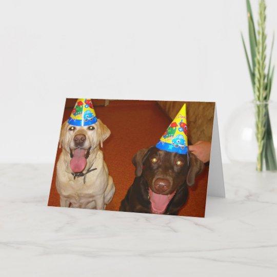 Happy Birthday Prima And Jake Card