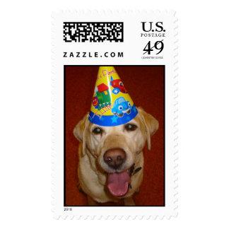 Happy Birthday Prima Postage Stamp