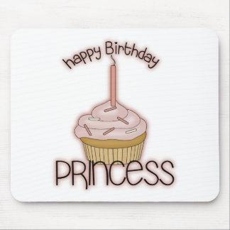 Happy Birthday Princess Mouse Mat