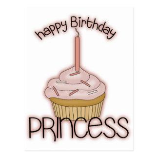 Happy Birthday Princess Postcard
