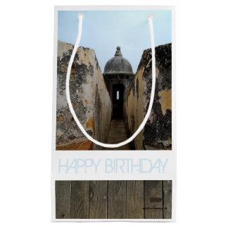 Happy Birthday, Puerto Rico Small Gift Bag
