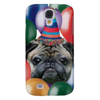 Happy birthday Pug dog iphone 3G Speck Case Samsung Galaxy S4 Case