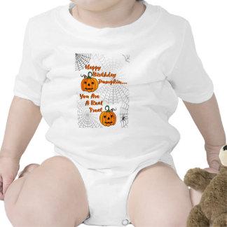 Happy Birthday Pumpkin Tee Shirts