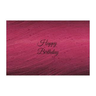 Happy Birthday Photo Cork Paper