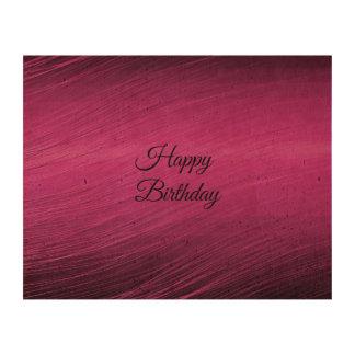 Happy Birthday Cork Fabric