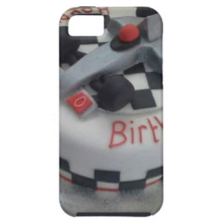 happy birthday racing car iPhone SE/5/5s case