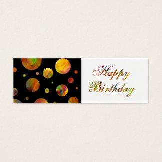 Happy Birthday Rainbow Gift Tag