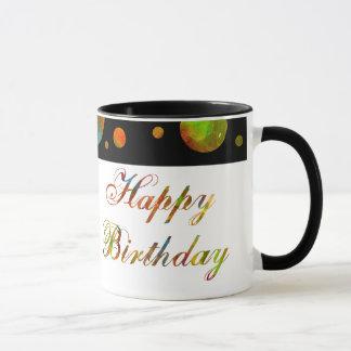 Happy Birthday Rainbow Mug