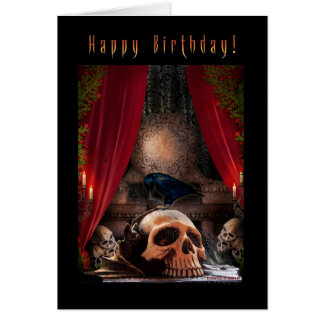 Happy Birthday - Ravens Den Greeting Cards