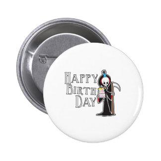 Happy Birthday Reaper Pins