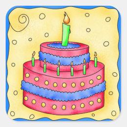 Blue Cupcake First Birthday Craft Supplies Zazzle
