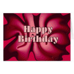 Happy Birthday Red Passion Greeting Cards