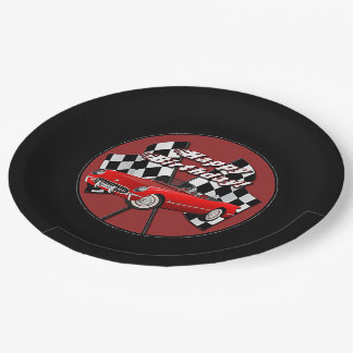 Happy Birthday Red Sports Car Paper Plates  sc 1 th 225 & Toy Cars For Boys Plates   Zazzle