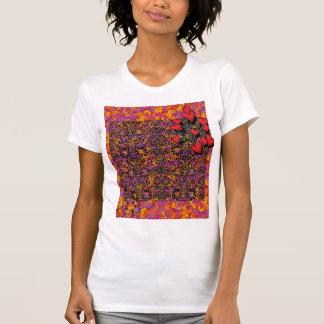 Happy birthday retro abstract rose shirt - Unique